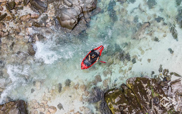 Whitewater Packrafting Soca