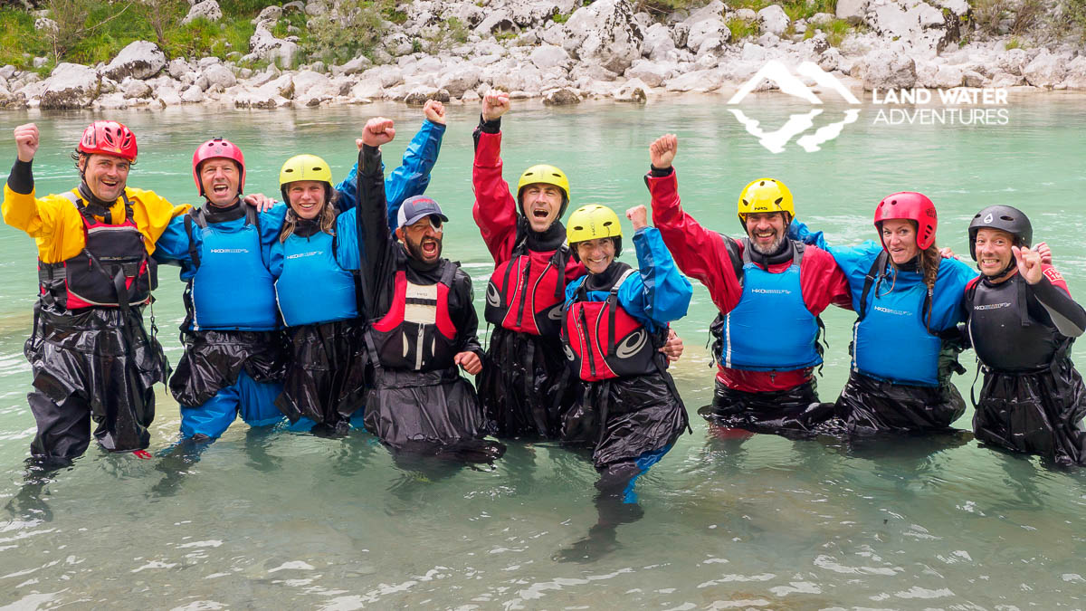 Packrafting company und team-events