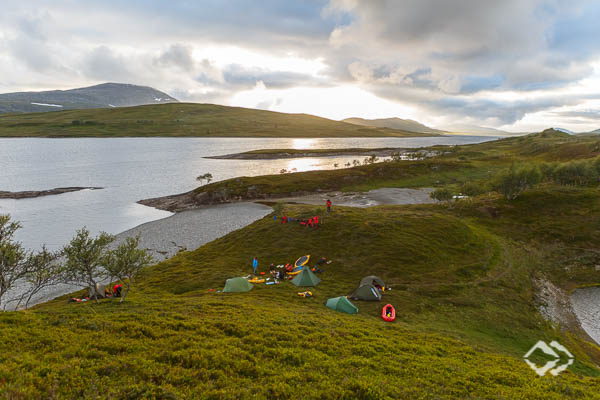 Packrafting Expeditionskurs Norwegen