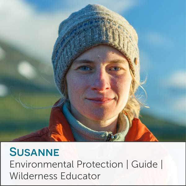 Susanne, Contact person Conservation