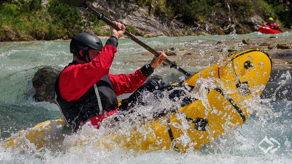 Advanced Whitewater Packrafting Tyrol Austria