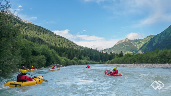 Wildwasser Packrafting Tirol