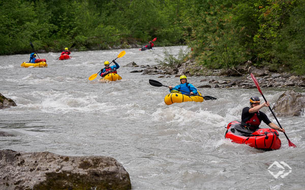 Whitewater Packrafting Training Tyrol